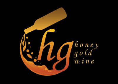 Honey Gold Wine Logo