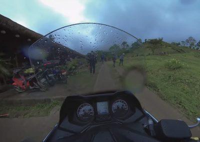 A Rainy day ride to Mini Tayak San Pablo Laguna