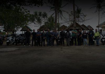 Atimonan maxi scooter ride with Kymco Xtown Club & South